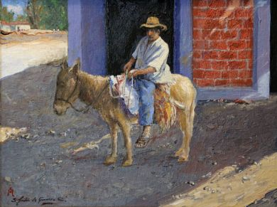 MEXICO - Don Rogelio 12x16 - $4200 : click to enlarge