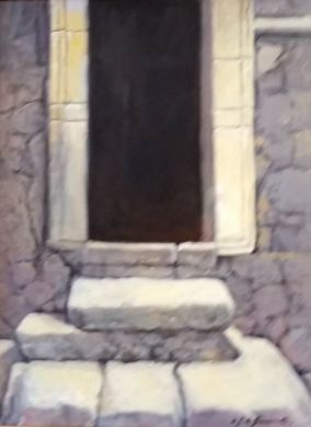 ITALY - Italian Doorway 20x16 - $3800: click to enlarge