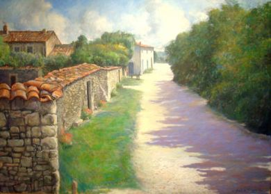 FRANCE - Le Calme 50x70 - $35,000                       : click to enlarge
