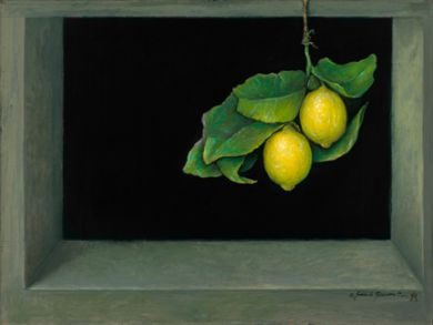 Mexico - Print - Lemons  - 30x40 inch giclee on canvas print with 1.5 inch gallery wrap edge $1140 -  paper prints available: click to enlarge