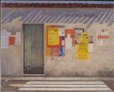 THE WALLS of France series - AFFICHAGE MUNICIPAL 23x29 $6500