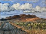 Sonoran Desert - Print -Cave Creek Road after the Rain - 2 canvas prints available in gallery 36x48 $1370, 32x42 $1200