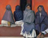 Mexico - Print - Four Women - canvas may be ordered -paper prints available