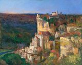 France - Print - Rocamadour - 9x12 canvas available $235 - paper prints available