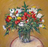 France - Print - Gran Bouquet - 24x24 canvas available $650. - may be ordered - paper prints available