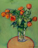 France - Print - Tulips - 28x22  canvas available $685 - paper print available