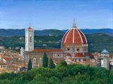 Italy - Print - View of Florence - may be ordered